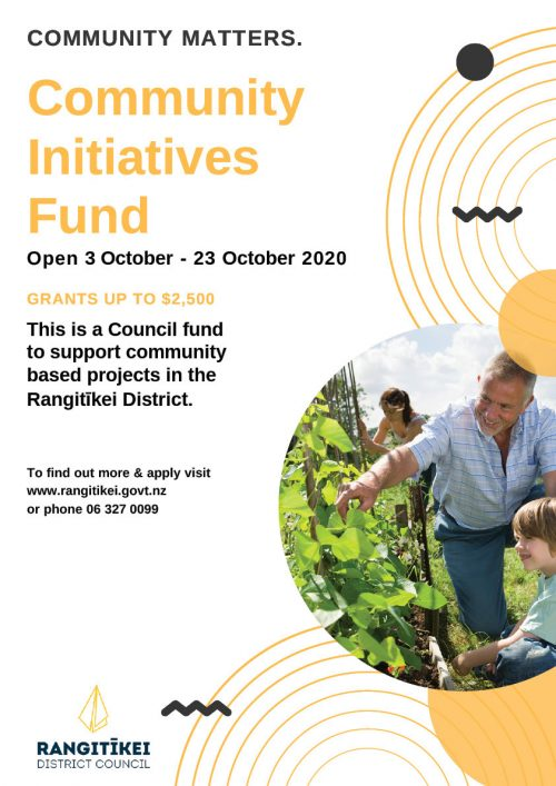 Community Initiatives Fund A3 Poster October 2020