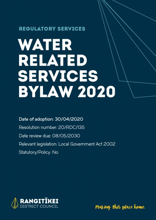 Water Related Services 2020